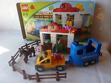 LEGO Duplo Reiterhof 5648 - Reitstall - Pferdestall - Pferd - Range - Pony + Ovp