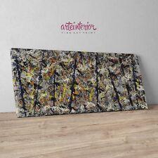Jackson Pollock, Blue Poles N. 11 Stampa Fine Art su tela Canvas Quadro Astratto