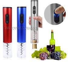 Cavatappi elettrico apribottiglie x vino cavatappo apri bottiglia taglia capsula