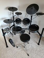 Alesis DM8 Pro electronic drum set with extras