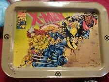 Vintage Xmen Metal Dinner Tray