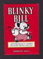 2011 Royal Australian Mint BABY PROOF Set Year Birthday Gift Blinky Bill Series
