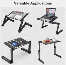 Portable Laptop Table Desk Adjustable Legs Cozy Desk Laptop Stand