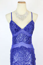 New TERANI P3162 Authentic Royal Spaghetti Strap Pageant Party Women Gown 2