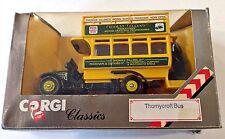 Vintage Corgi Classics Diecast Thornycroft Bus - Thomas Tilling - 1:43