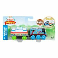 Thomas And Friends Wood Birthday Thomas Train Set GGG69 NEW