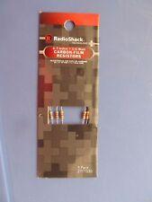 4.7K Ohm 1/4 Watt Carbon-Film Resistors  3 Packages of 5 each  #2711330  NEW