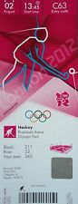 mint TICKET Olympia 2.8.2012 Women's Hockey China - Niederlande C63