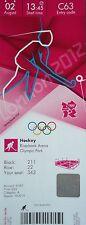 TICKET OLYMPIA 2.8.2012 Women 's Hockey Cina-Paesi Bassi c63