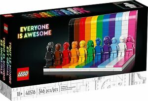 LEGO: Everyone Is Awesome (40516) [Adult Set Building Blocks Inclusive] NEW