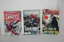 Lot of 3 Marvel Comic Books The Amazing Spider-man, Peter Parker the Spectacular