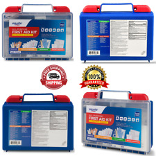 All-Purpose First Aid Kit Emergency Compact Survival Medical Items 140 Pieces