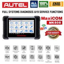 Autel MaxiCOM MK808 MX808 Full-System Diagnostic Tool OBD2 Scanner Key Coding