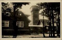 Čerchov Tschechien Schwarzkopf AK ~1930 gelaufen Chaty Turm auf dem Berg Haus