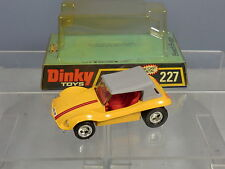"DINKY TOYS MODEL  No.227 "" BEACH BUGGY""    VN  MIB"