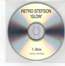 (DS529) Retro Stefson, Glow - 2013 DJ CD