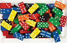 168 Wooden Dominoes Double Six Classroom Activities Subitising Maths Counters