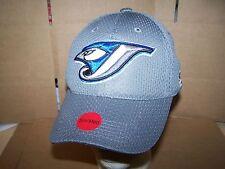 Toronto Blue Jays  HAT/CAP TEAM MLB -BLUE AND GREY -STRETCH FIT SMALL-  MEDIUM