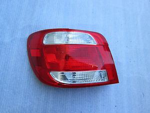 2005 2006 SAAB 92 LINEAR TAILLIGHT REAR TAIL LAMP 9-2 FACTORY OEM DRIVER SIDE