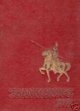 FRANKLIN HIGH SCHOOL PENNSYLVANIA 1973 YEARBOOK