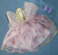 1993 Vtg Barbie Doll Locket Surprise #11558 Pink Purple Lilac Gold Dress Shoes