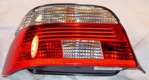 BMW Brand 5 Series Sedan Genuine OEM E39 2001-2003 Left Taillight US Spec