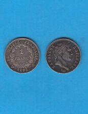 Premier Empire Napoléon Empereur 1 Franc en argent  1808 Paris Silver coin