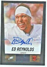 Ed Reynolds 2014 Score Hot Rookies RC Autograph SSP 14/15! EAGLES!!