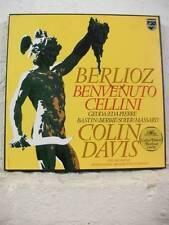 6707 019 BERLIOZ Benvenuto Cellini GEDDA EDA-PIERRE DAVIS PHILIPS STEREO 4LP BOX