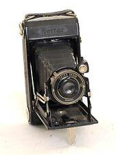 Zeiss Ikon Nettar  Derval  Bellows 120 camera, with 105mm f6.3 lens (0297)