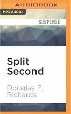 Douglas E Richards SPLIT SECOND Unabridged MP3-CD 12 Hr *NEW FAST 1st Class Ship