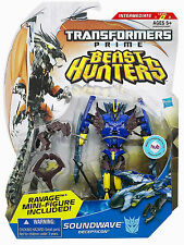 TRANSFORMERS PRIME BEAST HUNTERS SOUNDWAVE DELUXE MOSC MOC MISB SEALED NEW