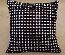 New cushion covers 16 x 16 inch retro black white circle spotted geometric spots