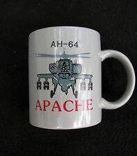 Military AH-64 Apache Helicopter Coffee Cup Mug