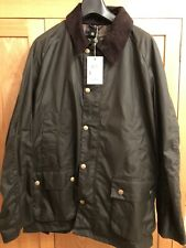 BARBOUR ASHBY WAXED JACKET in OLIVE 2XL