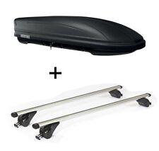 Dachbox MAA400L matt+Dachträger VDPKING1 für Volvo XC90 5Türer ab 15