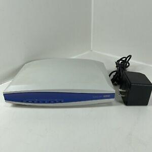 Adtran Netvanta 3200 1202860L1 VPN Router W/ WAN-T1 DBU Module W/AC Adapter