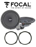 Focal Isu 200 Kit 4 Coffers 20cm for Audi A3 2013 Mounts and Supports Front