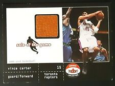 2001-02 Fleer Shoebox Sole of the Game Ball #2 Vince Carter /300 *READ