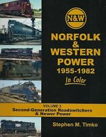 NORFOLK & WESTERN Power, 1955-1982 Second-Generation Roadswitchers: NEW BOOK