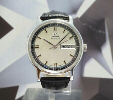 Vintage 1970 Men's Omega Automatic With Quickset Date Wristwatch 1Year Warranty