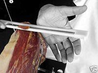 Cuchillo Jamonero con Protector Extraible Anti-accidentes para Zurdos Diestros