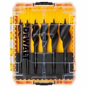 Dewalt DT90238 Tri Flute Impact Ready Auger Bit 6 Piece Set 150mm - Tough case
