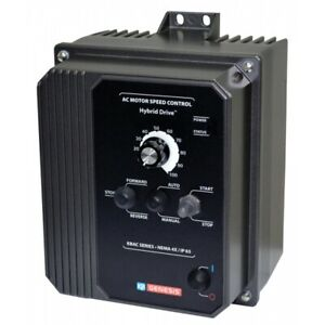 10001, KBAC-29 (1P), 3HP, 1-Phase, 200-240V (Input), Nema 4X/12 Enclosure