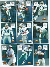 DALLAS COWBOYS x 10 SkyBox Premium 1994 NFL American Football Trading Cards