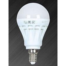 E14 Ahorro de Energia LED Bombilla Luz Lampara 220V 5W Blanco calido Normal H7Y8