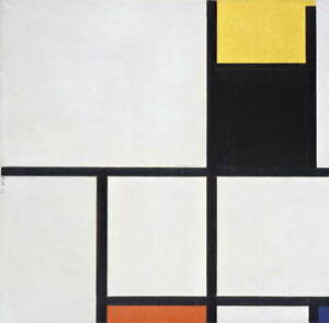 Piet Mondrian Tableau Giclee Art Paper Print Paintings Poster Reproduction