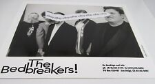 The Bedbreakers San Diego Blues Band Promotional 8x10 Picture B&W