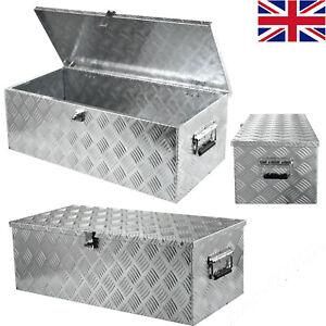 Aluminium Lockable Underbody Tool box Storage Box 22'' for Trailer Truck MA