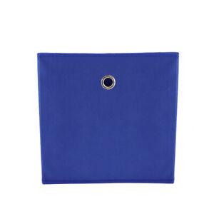 Faltbox Blau 31x31x31 **2er Set** Regalboxen Aufbewahrungsboxen Faltboxen